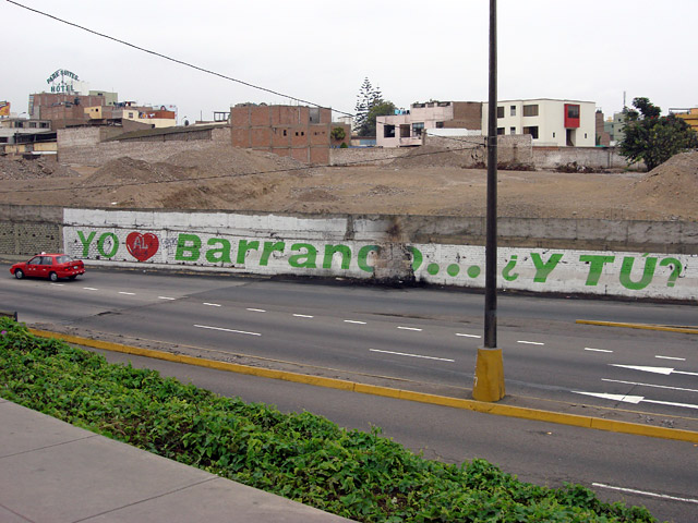 I love Barranco… and you?