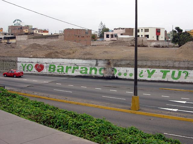 Yo quiero Barranco... ¿y tu?