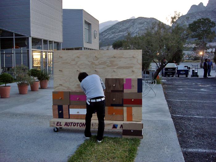 ...y lo volvimos a montar en el Cedim, una escuela privada de arte y diseño.