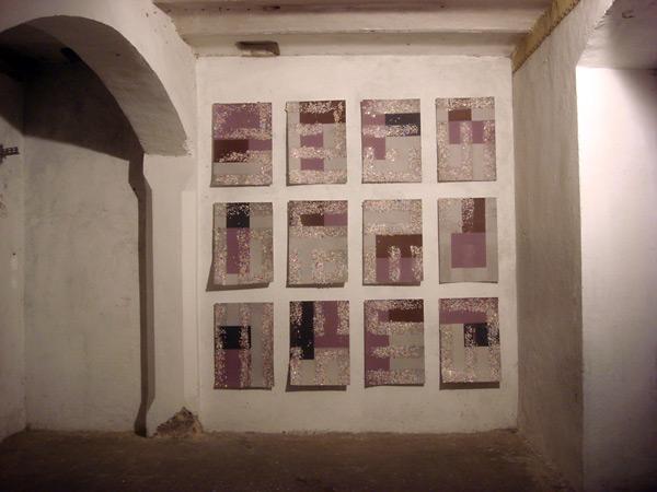 Las 12 piezas resultado del experimento.