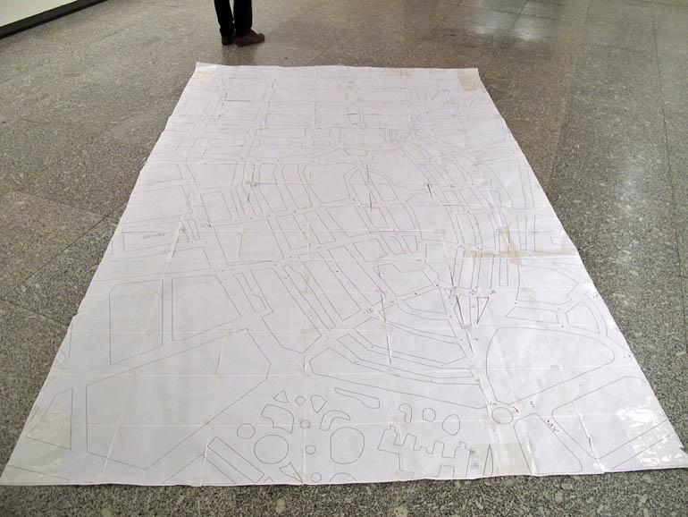 Martix map