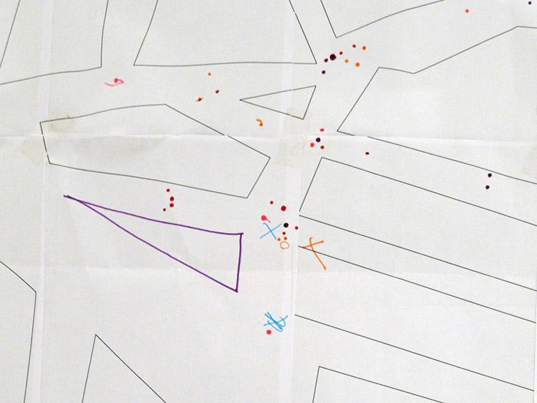 Detalle del mapa matriz