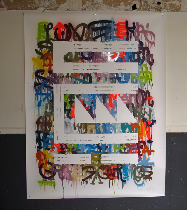 """""""Calle Buiza y Mensaque 3"""" (obra sobre papel)"""