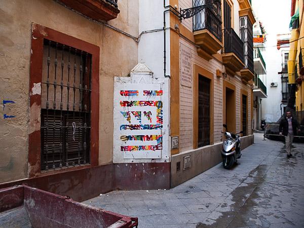 """""""Calle Buiza y Mensaque 3"""" (obra en la calle)"""