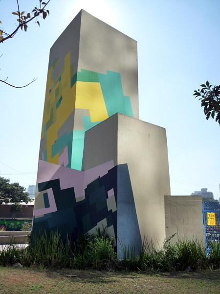 El edificio de Nuria - vista Sur