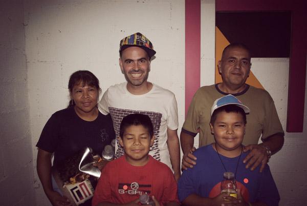 La familia de Javi, ¡mis vecinos!