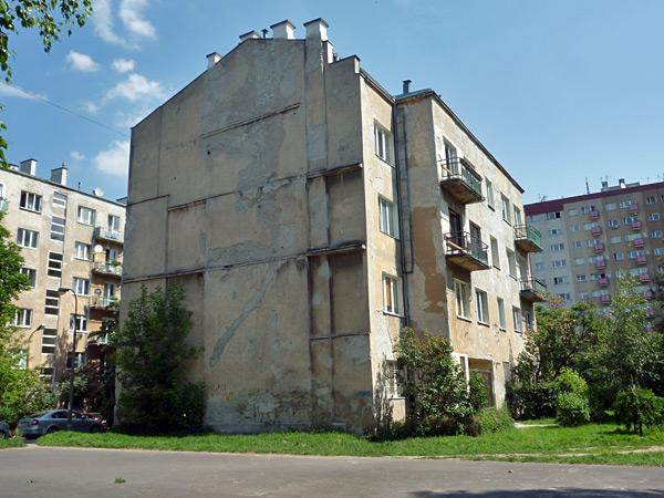 West facade, day 0