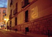 Graffiti con Luz